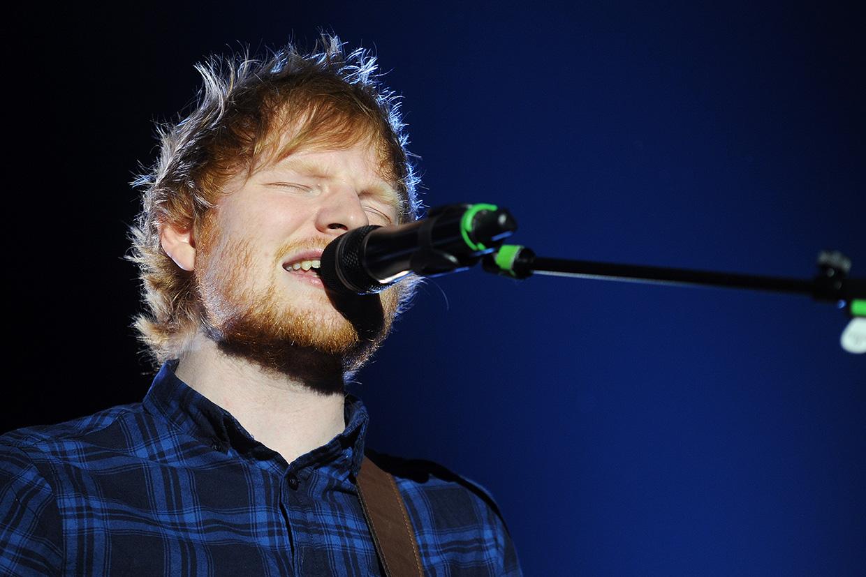 Ed Sheeran na koncercie