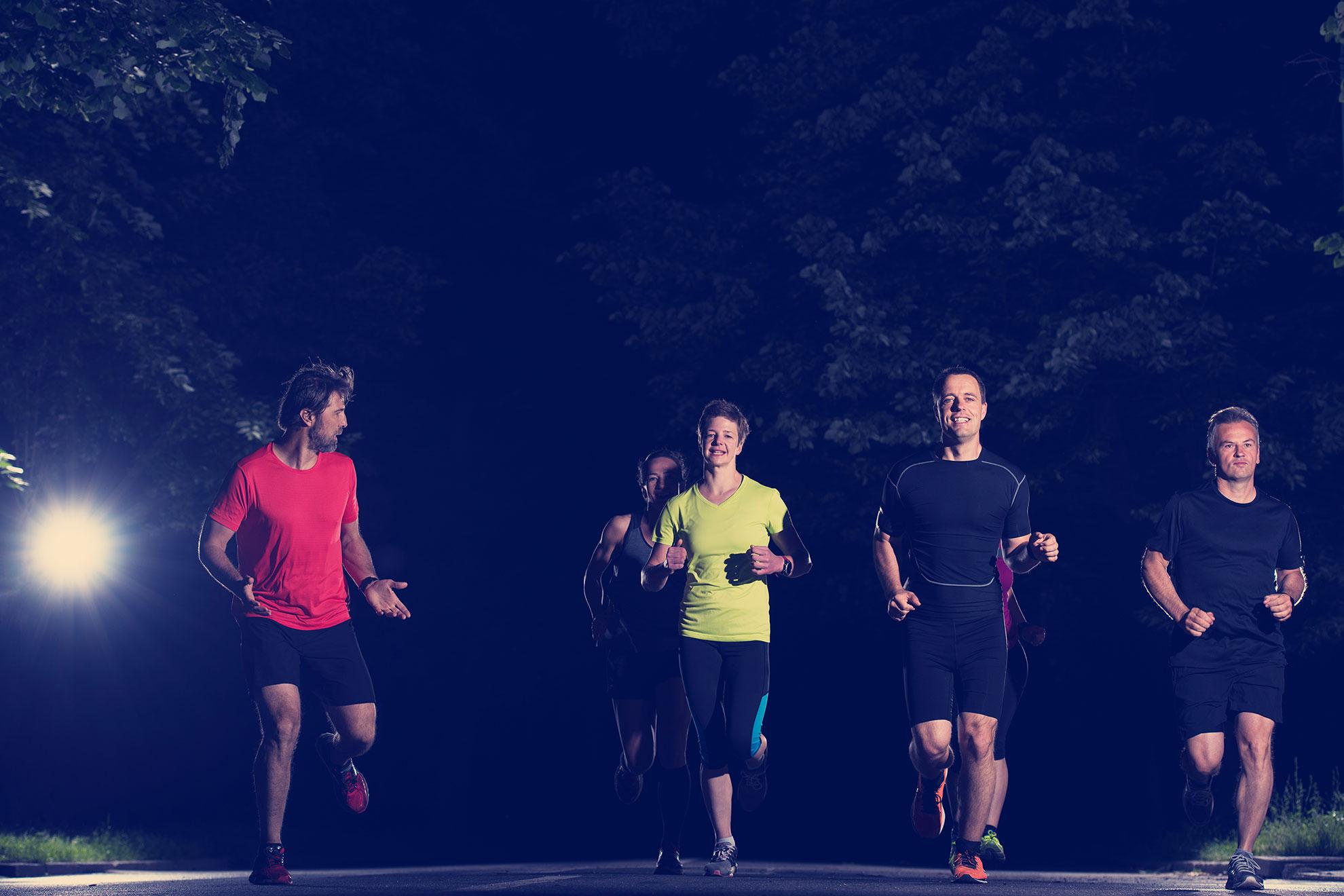 Bieganie w nocy