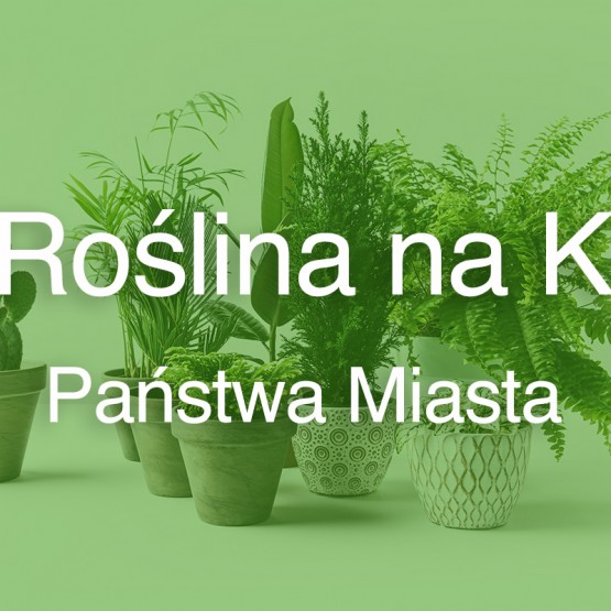 Roślina na K