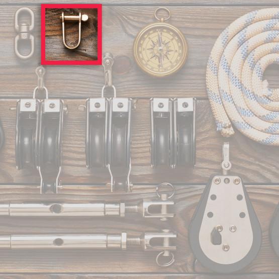 Szekla i inny osprzęt jachtowy, ilustracja do artykułu