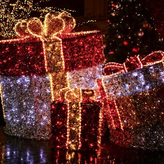 Zimowe warszawskie dekoracje
